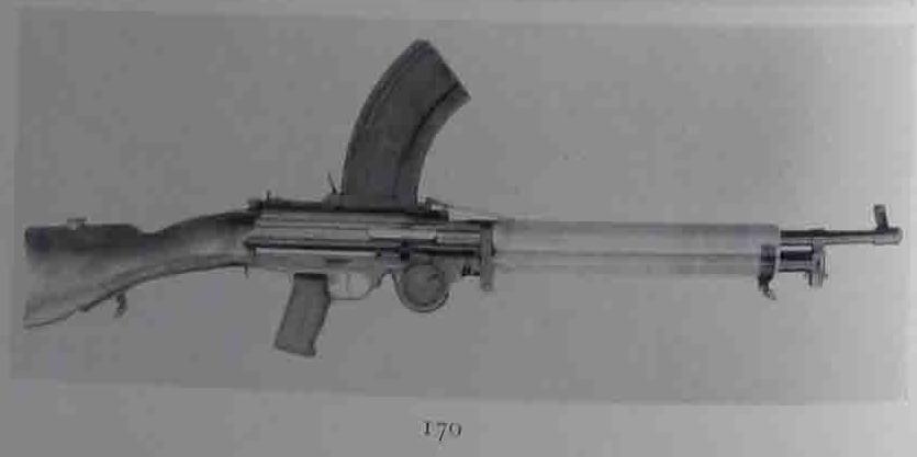 British prototype Lewis Soley light machine gun  Modfied