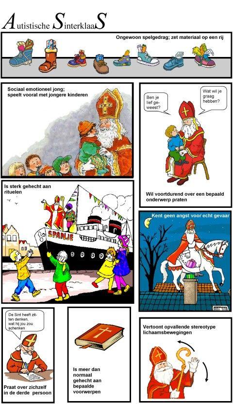 Afbeeldingsresultaat voor autistische sinterklaas strip