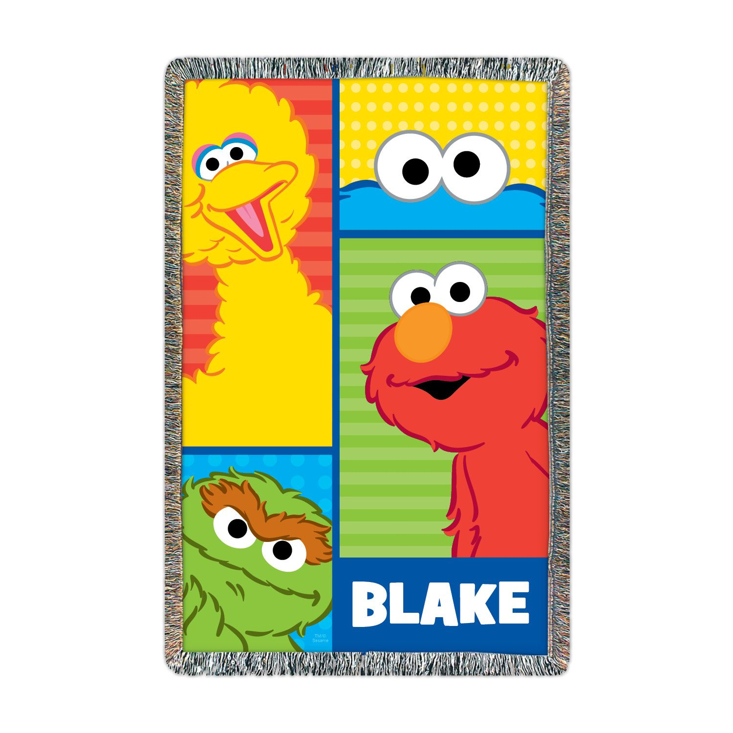Sesame Street Elmo And Friends Throw With Images Elmo And