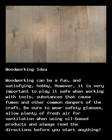 Learn easy woodworking at http://walkerwoodesign.org