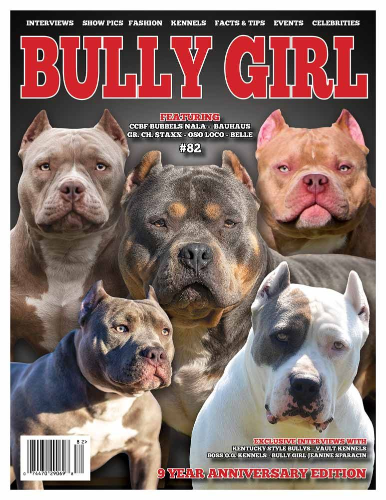Bully Girl Magazine Issue 82 9 Year Anniversary Edition Girls