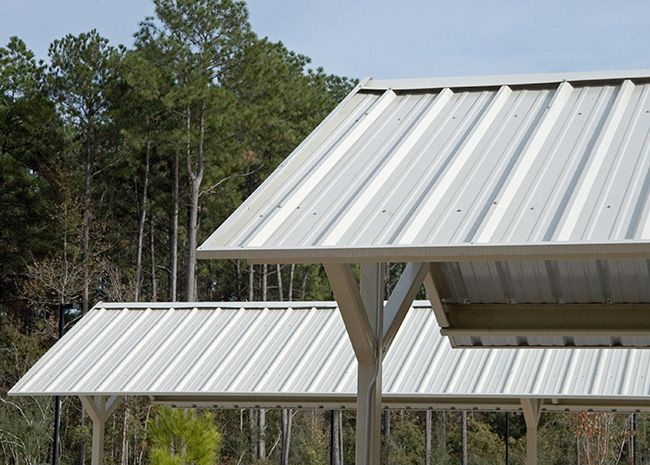Image Result For Cantilevered Corrugated Steel Roof Cantilever