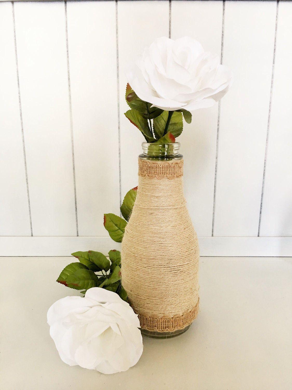 A personal favorite from my Etsy shop https://www.etsy.com/listing/504559542/simple-yet-elegant-dairy-jar-vase
