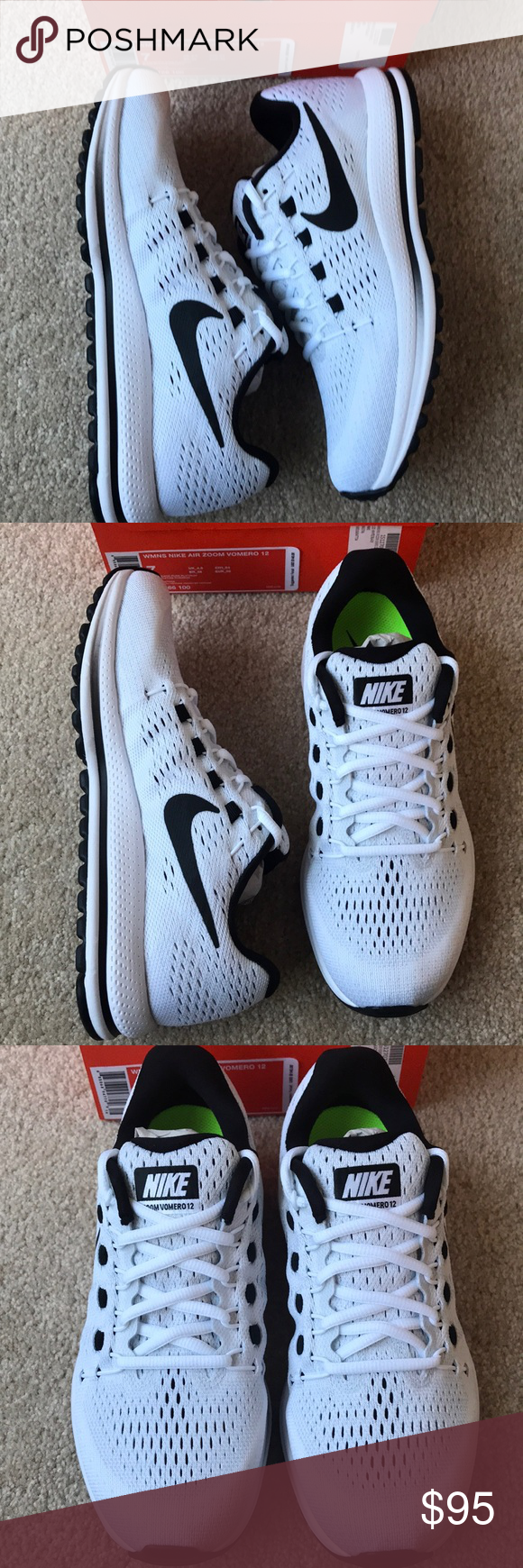 Women s Nike Air Zoom Vomero 12 NWT in 2018  39bf2d00d