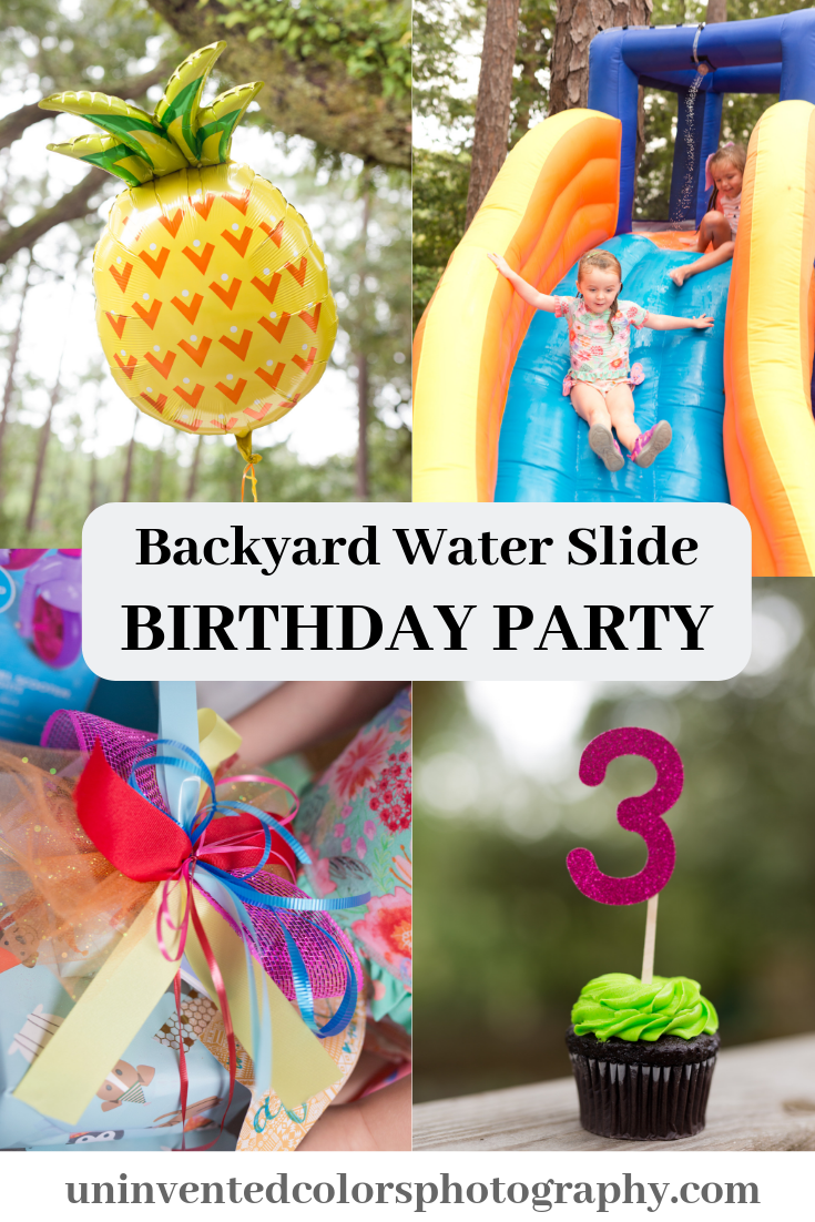 Afton's Third Birthday | Water birthday parties, Backyard ...