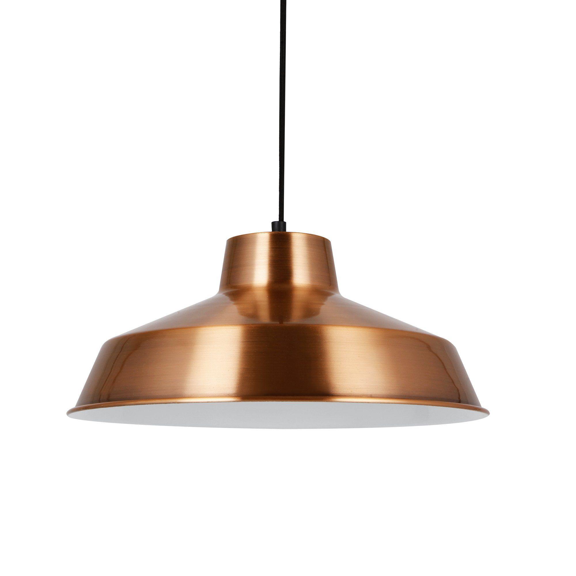 Hängeleuchte Design pro hängeleuchte design decken le kupfer metall ø35cm
