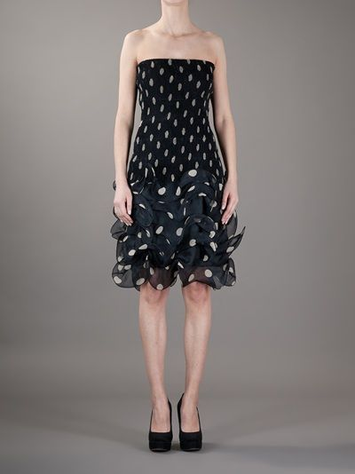 Black silk dress from Pancaldi