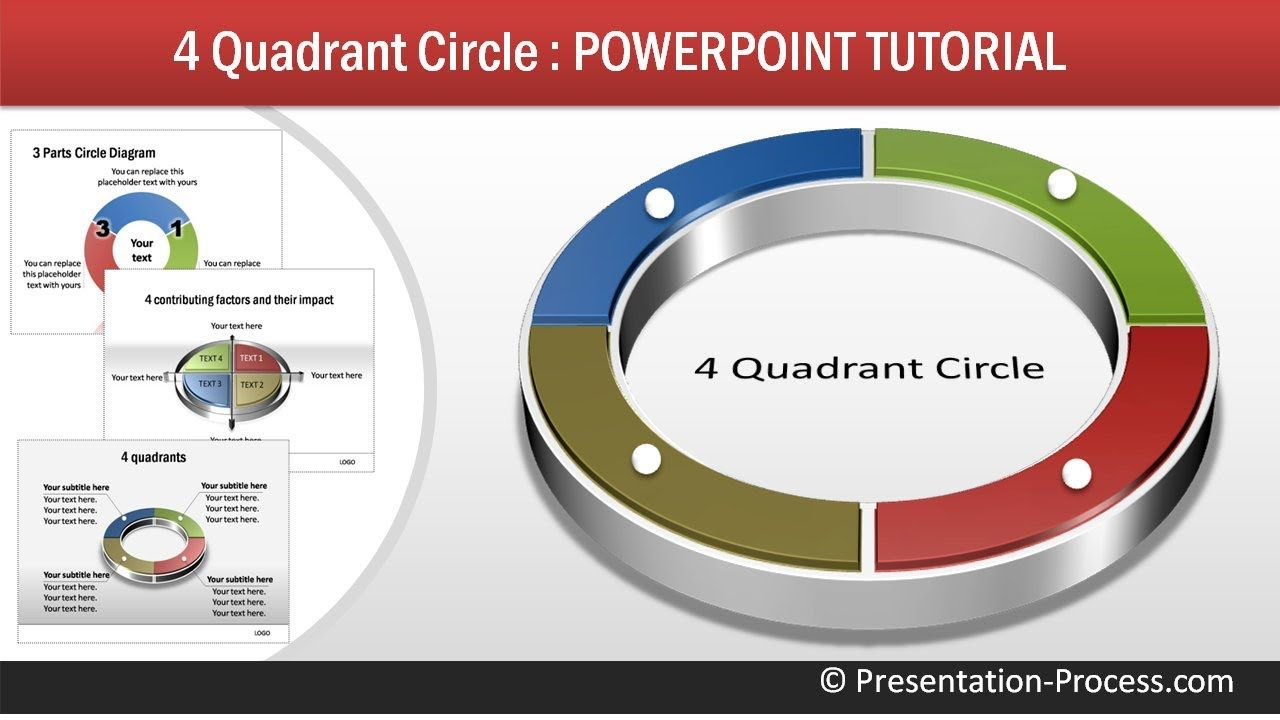 How to create 4 quadrant circle powerpoint diagram tutorial how to create 4 quadrant circle powerpoint diagram tutorial series youtube toneelgroepblik Image collections