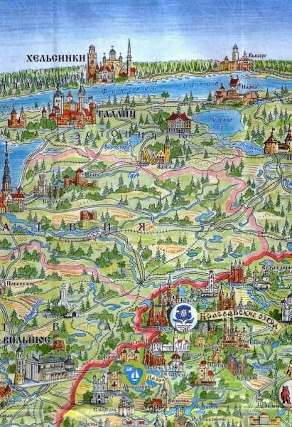 Belarus tourist map part3 braslav lakes architecture pinterest belarus tourist map part3 braslav lakes sciox Images