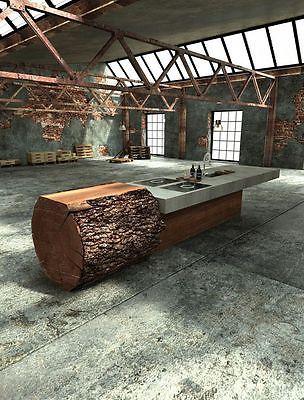 Beton Ciré Kit 5m² Kochinsel, Küchenarbeitsplatte, Betonoptik - k chenarbeitsplatten aus beton