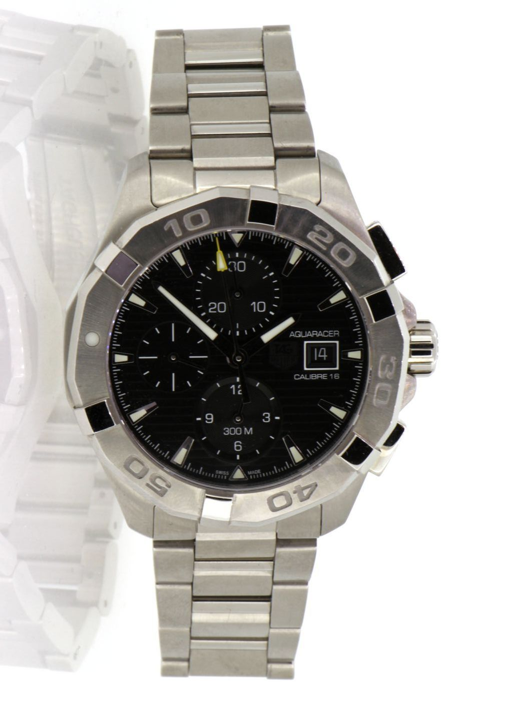 09033c7c0c1 Tag Heuer Aquaracer Chronograph Automatic Men s Watch CAY2110.BA0927 ...