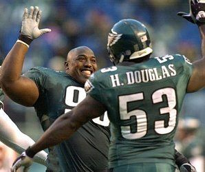 d2d05646 Philadelphia Eagles DE Hugh Douglas & MLB Levon Kirkland - #Eagles ...