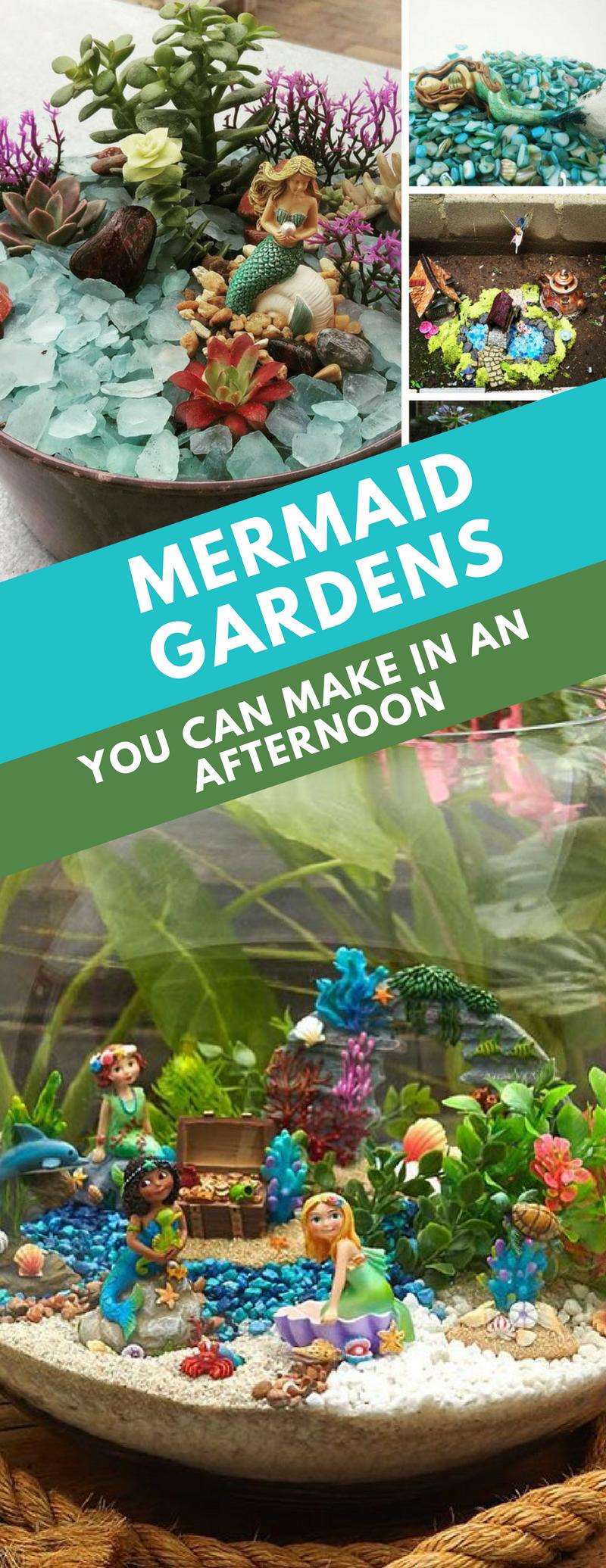 16 Magical Mermaid Gardens You Can Make