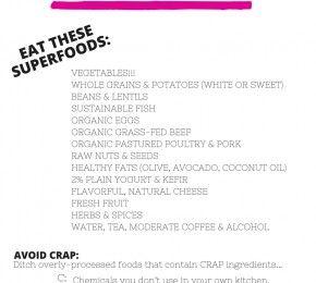 Download Free Cheat Sheets #SuperfoodSwap https://dawnjacksonblatner.com/free-cheat-sheets/