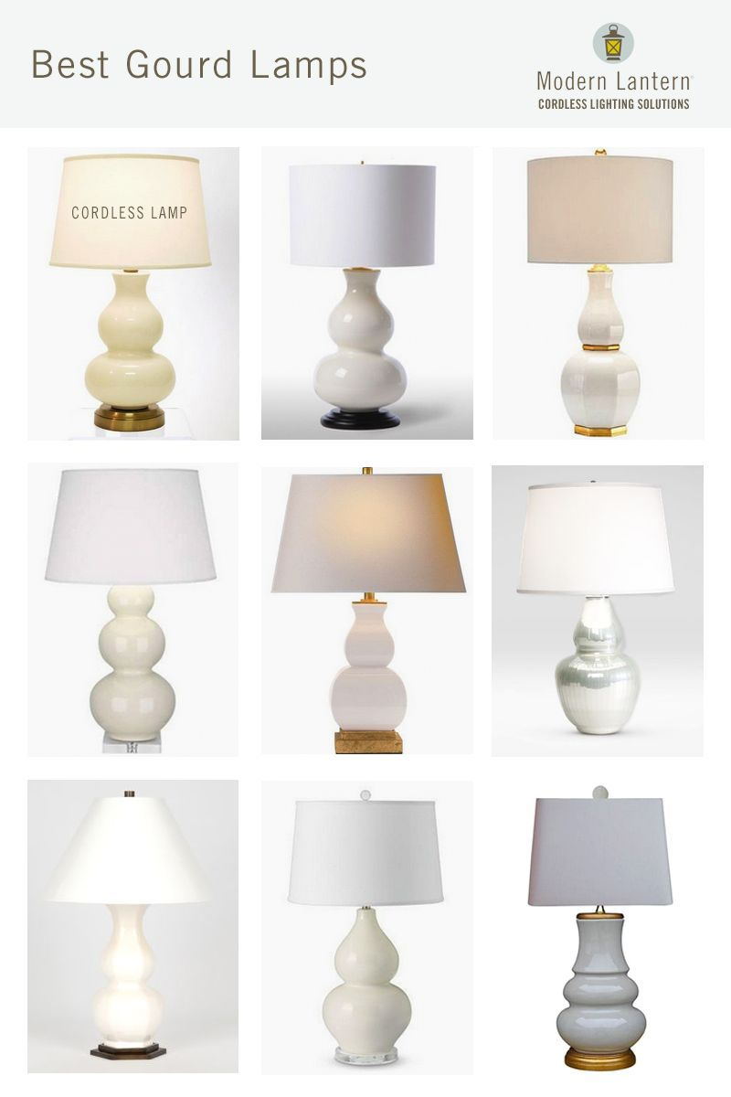 Marilyn Ivory on Brass Cordless Lamp - Made in the USA | Battery ...