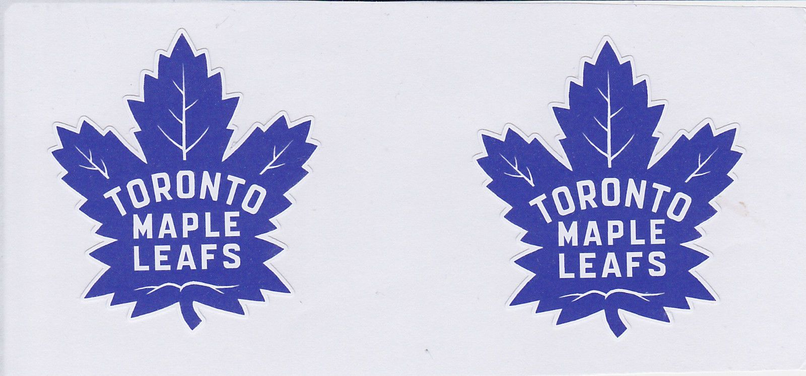 2 X Toronto Maple Leafs Hi Gloss Stickers Toronto Maple Toronto Maple Leafs Maple Leafs
