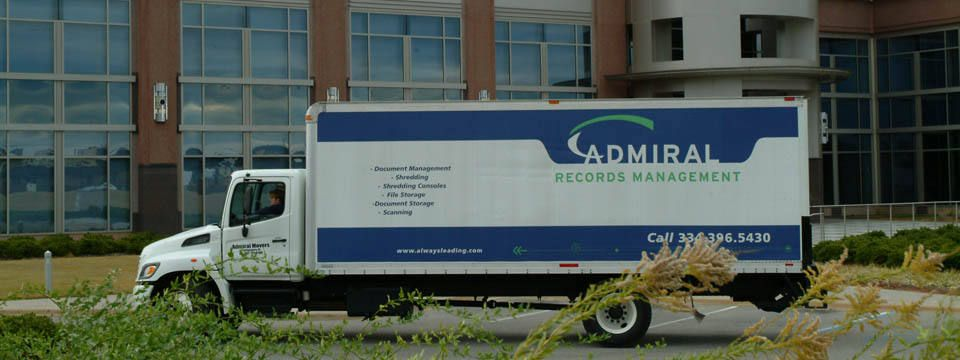 We deliver your information, store, relocate, shred