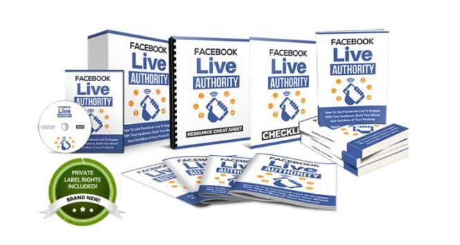 Facebook Live Authority Review  High Quality Sales Funnel That Reveal How To Use Facebook Live To Engage With Your Audience Build Your Brand And Keep 100% Profits