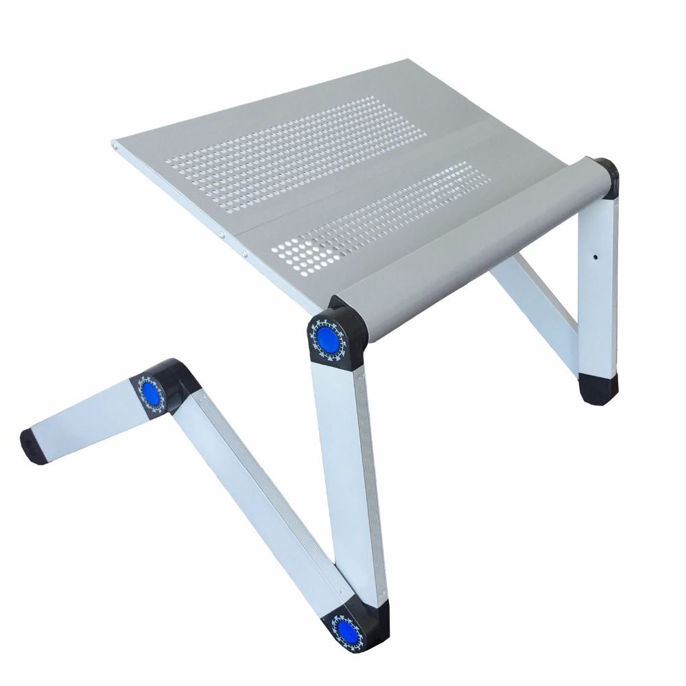 Adjustable Portable Laptop Table Stand Lap Sofa Bed Tray Computer Notebook Desk Bed Table With Mouse Table Zw Cd10 Laptop Desk Desk Portable Laptop Table