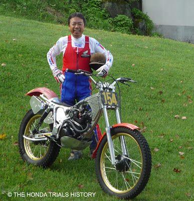 Special & Unique Honda Bikes | The Honda Trials History