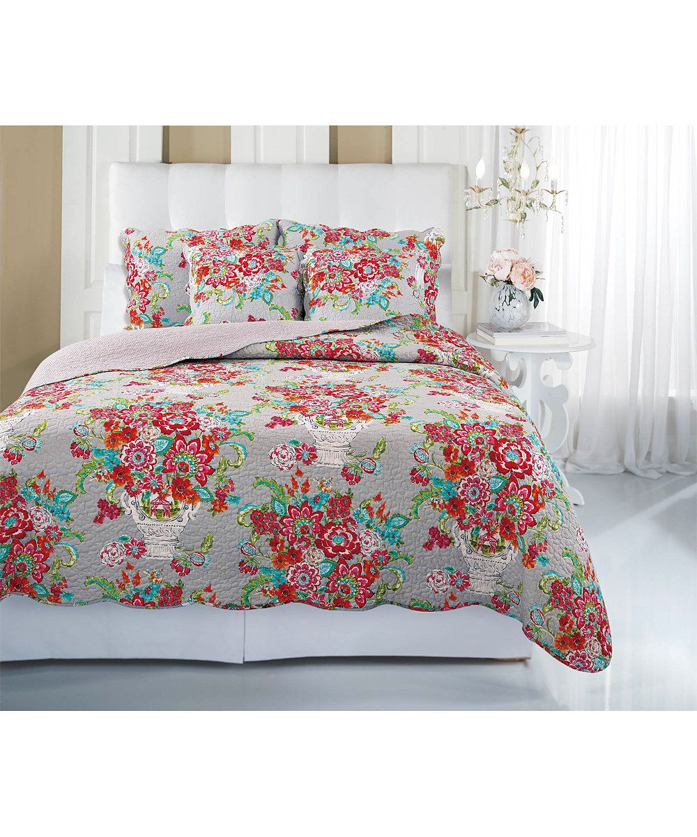Ivy Hill Home Blissful Bouquet Quilt Set | Cotton quilts and Bedrooms : ivy hill quilts - Adamdwight.com