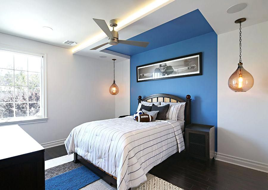 Image Result For Royal Blue Accent Wall Accent Wall Bedroom