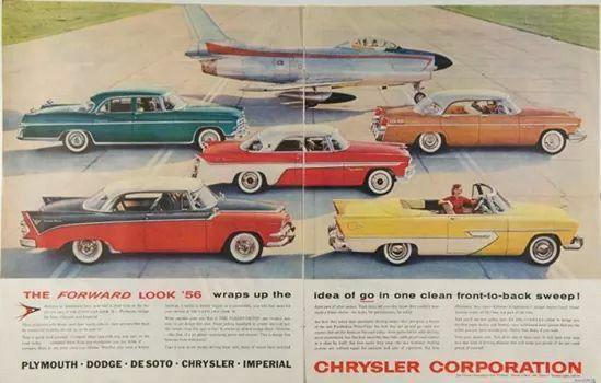 Linha Chrysler para 1956