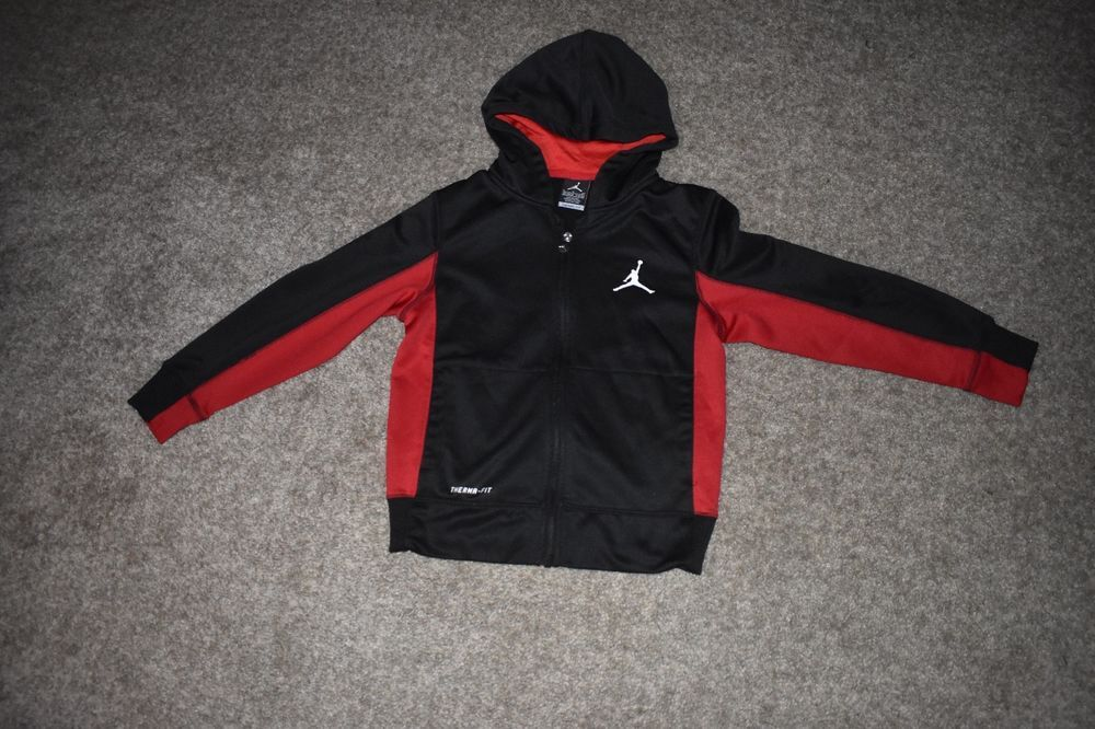 5441c7d8037fd7 Nike Air Jordan Jumpman Full Zip Hoodie Michael Jordan Jacket Size Youth  8-10  RalphLauren  BasicJacket  Everyday