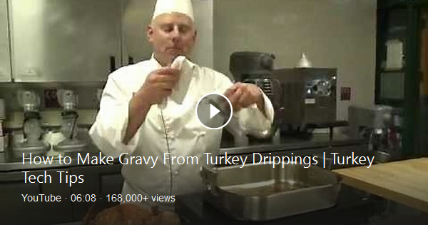 "Save the drippings! In the next installment of ""Turkey"