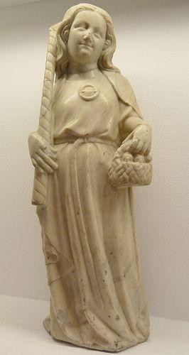 Saint Dorothy Heilige Dorothea Medieval Sculptures Middle Ages