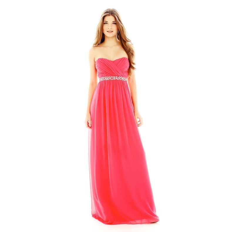 Bridesmaid dresses from jcpenny sweetheart long dress