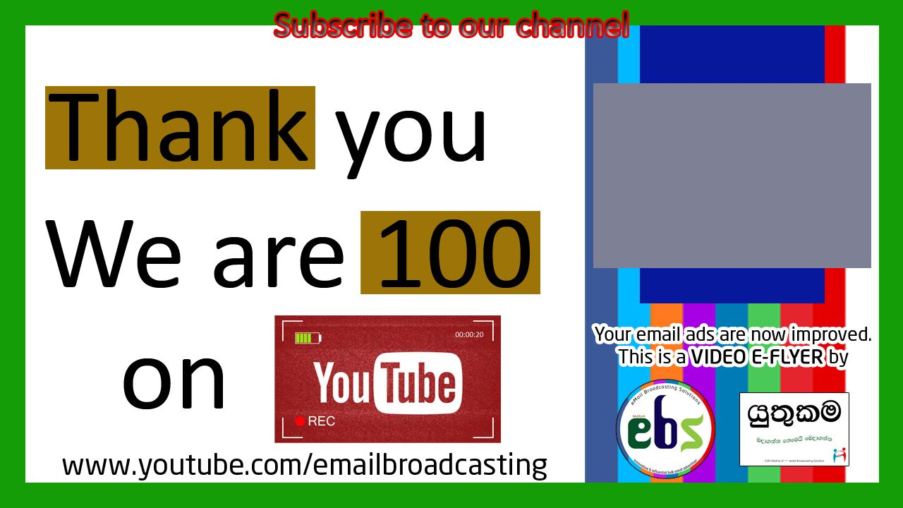 Our Next Target is 1000 subscribers | Click and Subscribe