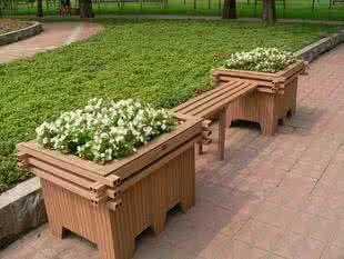 Amazing Composite Patio Flower Boxes