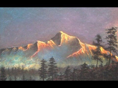 How To Draw A Dramatic Landscape Soft Pastel Technique