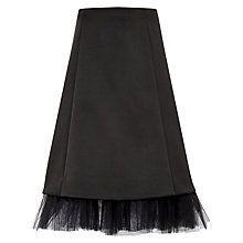 6b462d7979 Buy Ted Baker Olenaa Tulle Trim Midi Skirt, Black Online at johnlewis.com