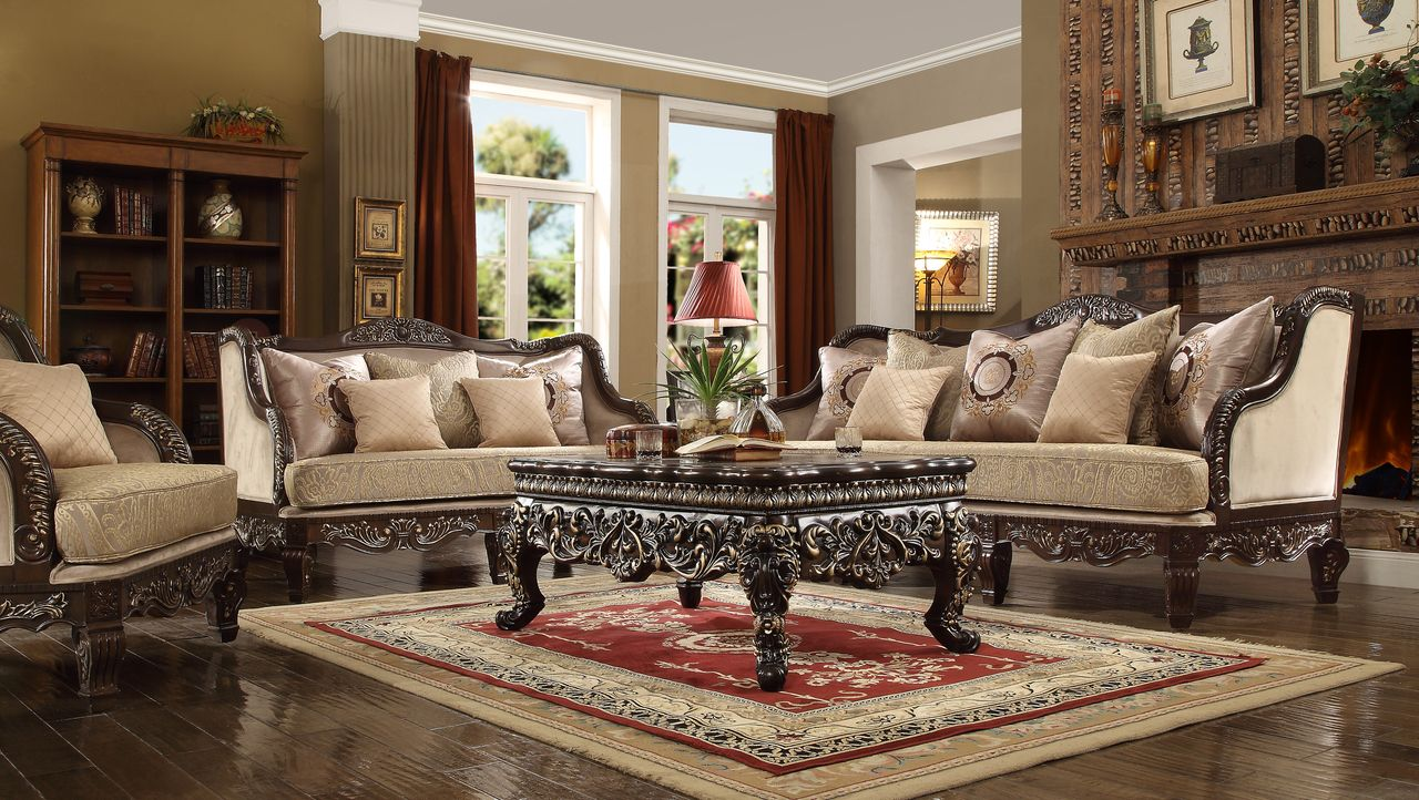 room full traditional inexpensive sofa living table brown sets set of white in piece furniture tips size livings buying