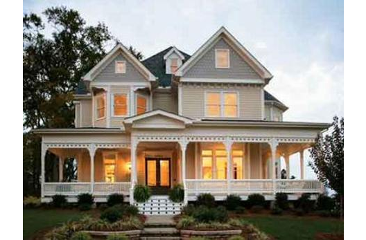 Modern Victorian Home Beautiful Wrap Around Porch My