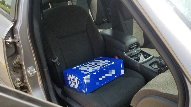 Canadian Police Catch Man Using Case Of Beer As Booster Seat Kids Booster Seat Beer Case Booster Seat
