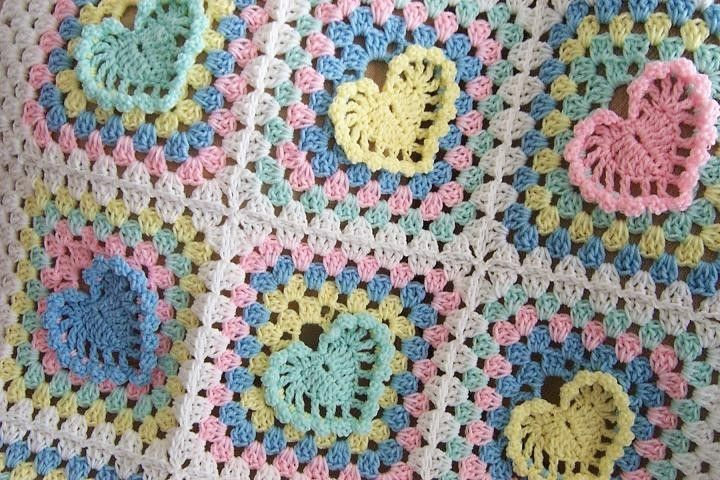Free+Easy+Crochet+Blanket+Patterns | Crochet Baby Blanket Patterns ...