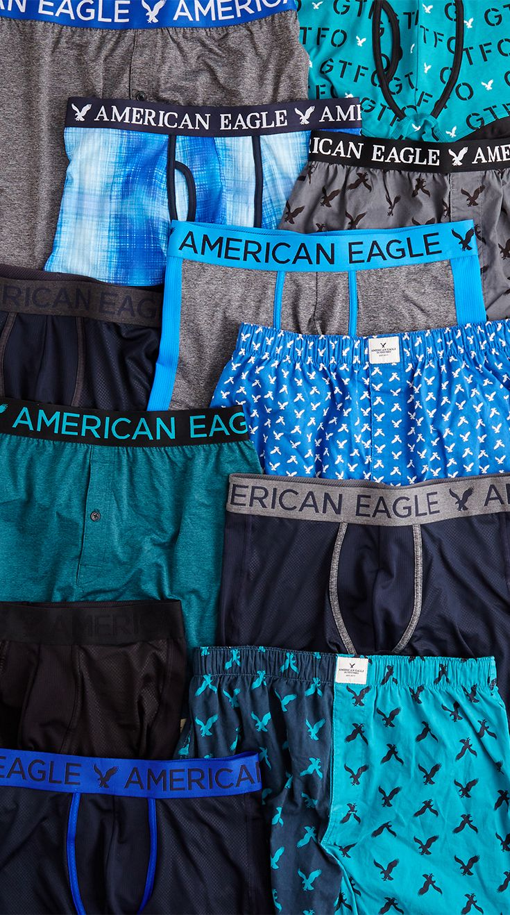 American Eagle Kids Cotton Boxer Briefs Underwear
