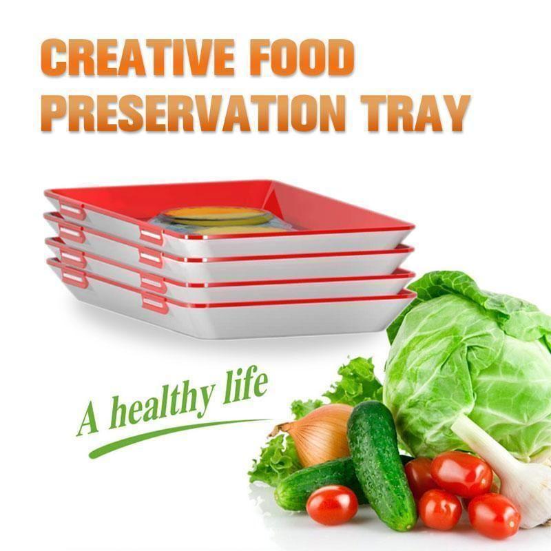 2020 Fresh Food New Idea Creative Food Preservation Tray Kiendae In 2020 Preserving Food Creative Food Fresh Food