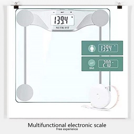 Digital Body Weight Bathroom Scale BMl,Accurate Weight Measurements Scale 💎Amazon  products free tri...