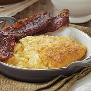 Cheddar Cheese Grits Casserole.
