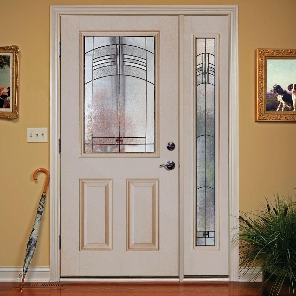 Feather river doors 505 in x 81625 in rochester patina