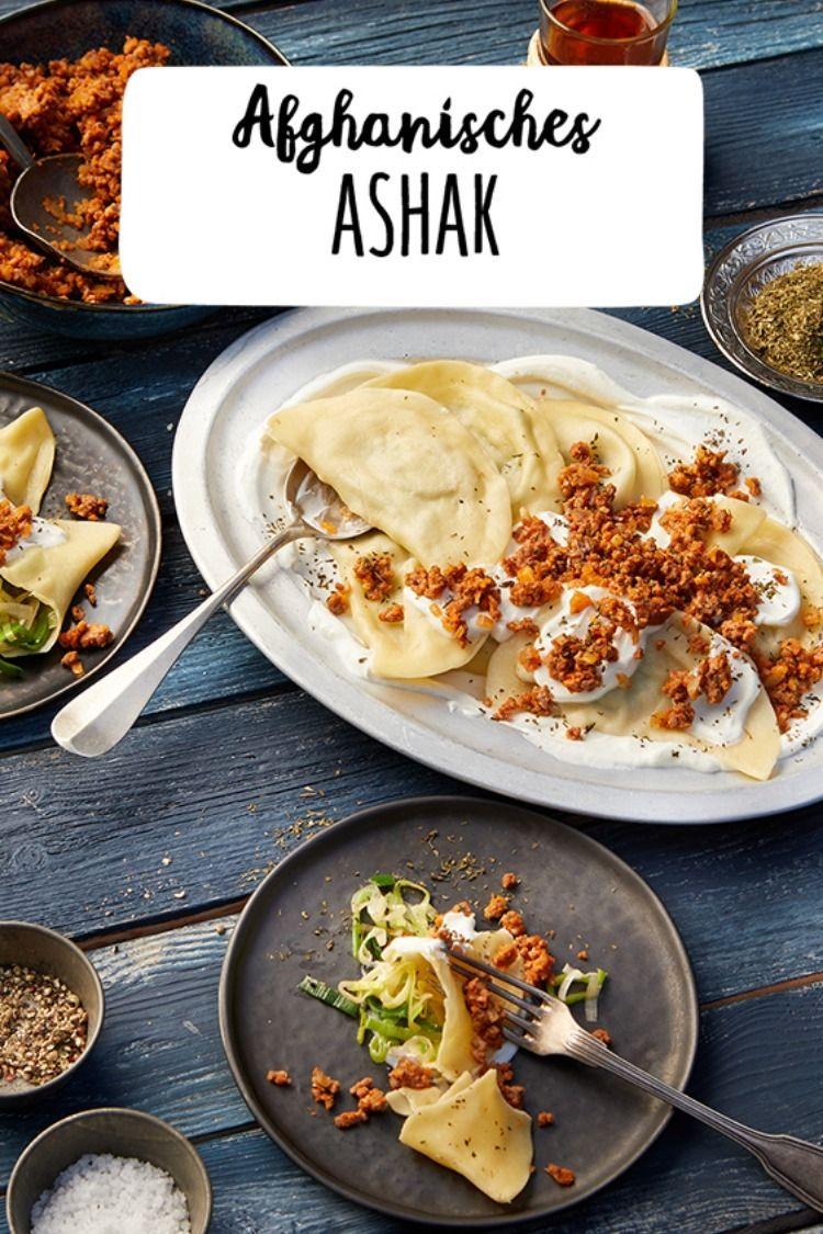 Afghanisches Ashak Rezept Rezepte Afghanisches Rezept Orientalische Rezepte