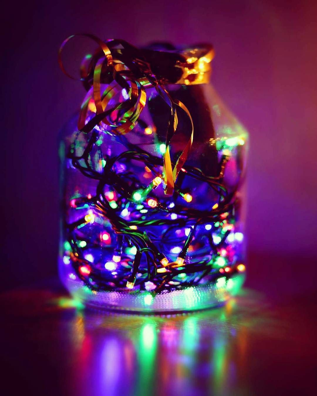 Christmas in a jar  #christmas #winter #favoriteseason #christmastree #lights #fairylights #christmasallyearround #cozy #warm