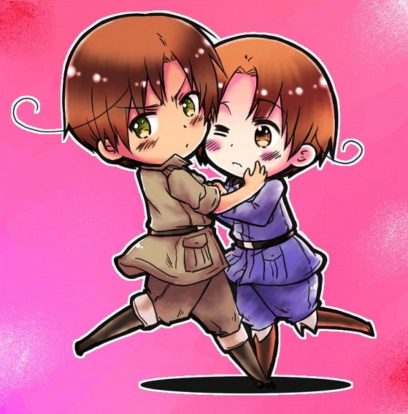 27.8 x 19.7 inches Hetalia Axis Powers Italy and Romano Poster Wall Scroll