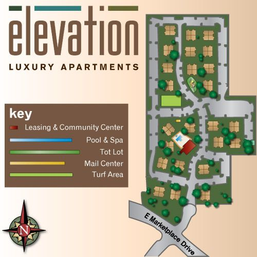 Elevation is a luxury apartment community located in Flagstaff, Arizona.