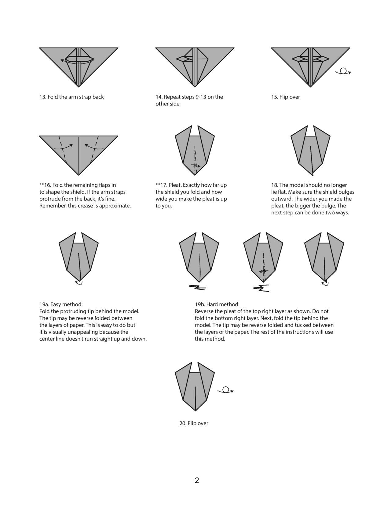 Origami Shield