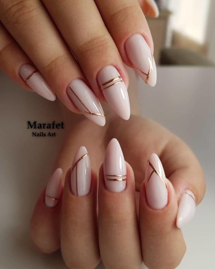 Schöne Nägel Maniküre Divaail  nagelkunst  nail jenner nail wedding nail nail nail nail